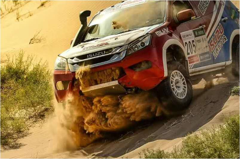 Rally Dakar en China