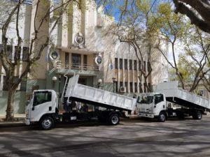 Isuzu camiones entrega
